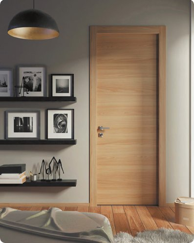 Stain Grade Veneer Flush Door