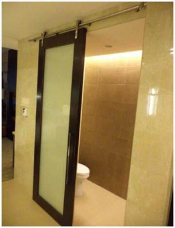 Sliding Mirror Door For Marriott Hotel