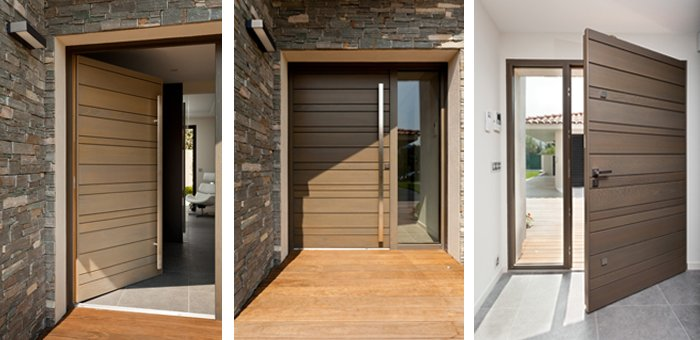 Modern Doors for France Luxury Villas ... & Modern Doors for France Luxury Villas - Forest Bright Wood Doors