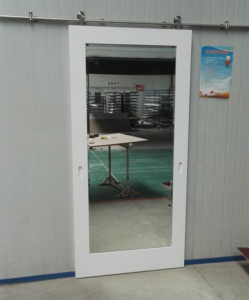 Sliding Mirror Barn Door For Hampton Inn By Hilton