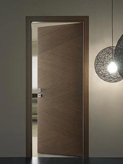 Stain Grade Veneer Flush Door Photo