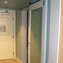 Marriot Calgary Closet Mirror Door