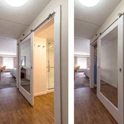 Sheraton Bypass Closet Door