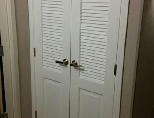 Courtyard by Marriott Double Swing Closet Louver Doors