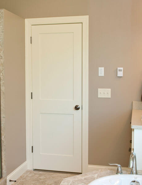 Paint Grade Mdf Stile And Rail Doors Forest Bright Wood