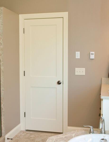 Paint Grade MDF Stile \u0026 Rail Door & Paint Grade MDF Stile and Rail Doors - Forest Bright Wood Doors