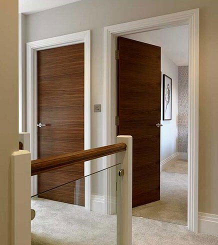Stain Grade Veneer Flush Door & Stain Grade Veneer Flush Door - Forest Bright Wood Doors