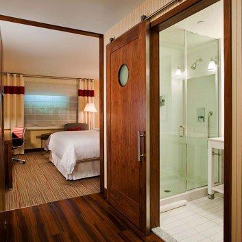 Hotel Sliding Door