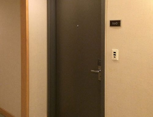 Fairfield Inn and Suites UL Listed 20 Minutes Fire Rated HPDL Wooden Door