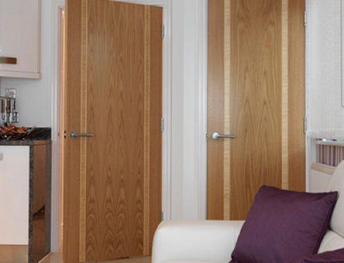 Veneer Solid Core Prefinished Commercial Interior Wood Doors