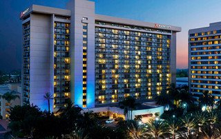 Provided 970 sets of sliding glass doors for Marriott Anaheim