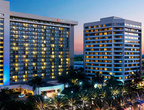 Provided 970 sets of sliding glass doors for Marriott Anaheim