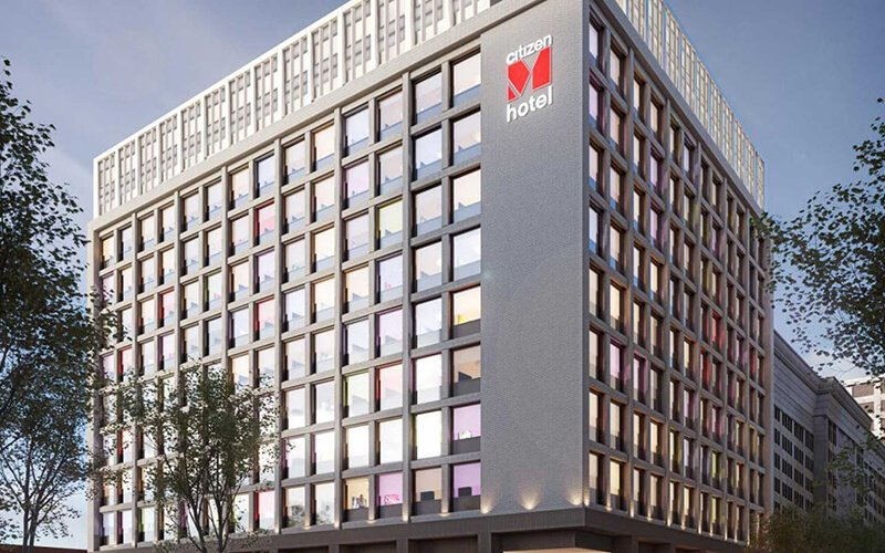 UL 45-minute fire rating entry door for CitizenM California Hotel