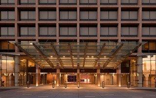 Provides Entry Doors, Sliding Barn Doors for Hilton Washington DC National Mall The Wharf