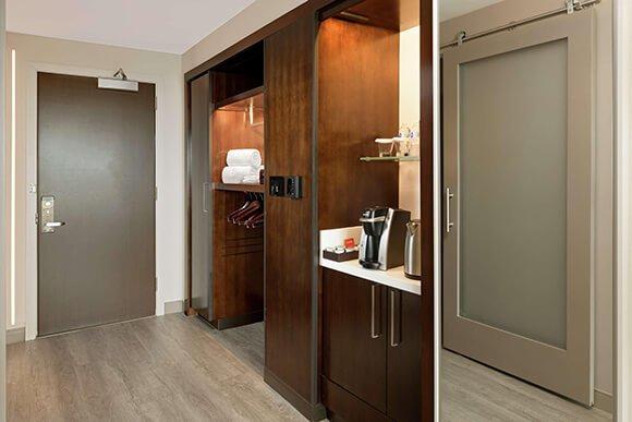 Entry Doors, Sliding Barn Doors for Hilton Washington DC National Mall The Wharf