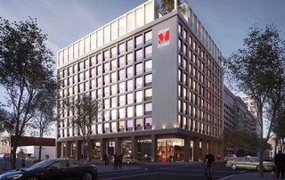 UL 45 minutes fire door for CitizenM Los Angeles Downtown